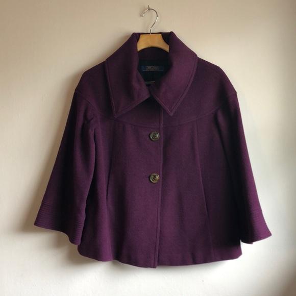 Anthropologie Jackets & Blazers - Cashmere coat Millard Fillmore Antropology sz M-L